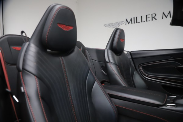 Used 2019 Aston Martin DB11 Volante for sale Call for price at Alfa Romeo of Westport in Westport CT 06880 25