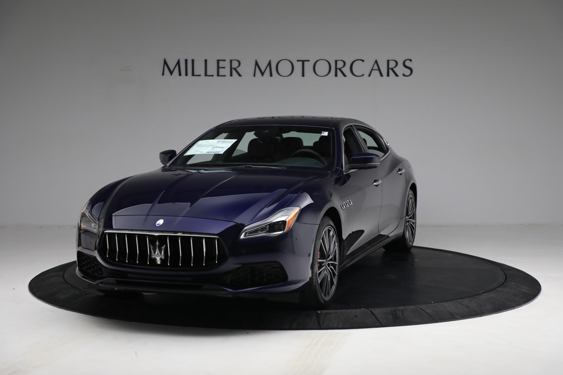 New 2021 Maserati Quattroporte S Q4 for sale $121,749 at Alfa Romeo of Westport in Westport CT 06880 1