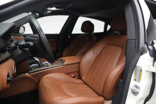 New 2021 Maserati Quattroporte S Q4 GranLusso for sale $120,599 at Alfa Romeo of Westport in Westport CT 06880 13