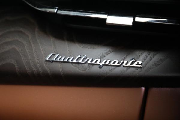 New 2021 Maserati Quattroporte S Q4 GranLusso for sale $120,599 at Alfa Romeo of Westport in Westport CT 06880 22
