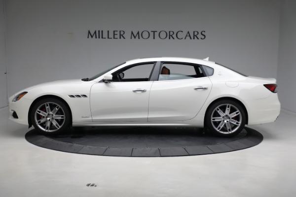 New 2021 Maserati Quattroporte S Q4 GranLusso for sale $120,599 at Alfa Romeo of Westport in Westport CT 06880 3