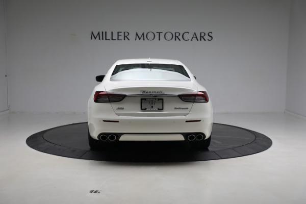 New 2021 Maserati Quattroporte S Q4 GranLusso for sale $120,599 at Alfa Romeo of Westport in Westport CT 06880 6