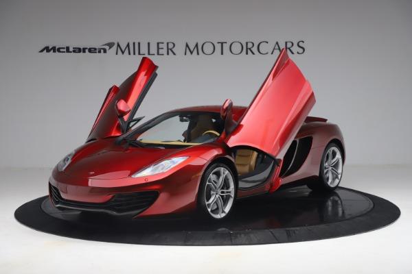 Used 2012 McLaren MP4-12C for sale Call for price at Alfa Romeo of Westport in Westport CT 06880 13
