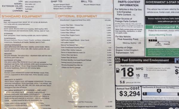 Used 2012 McLaren MP4-12C for sale Call for price at Alfa Romeo of Westport in Westport CT 06880 28