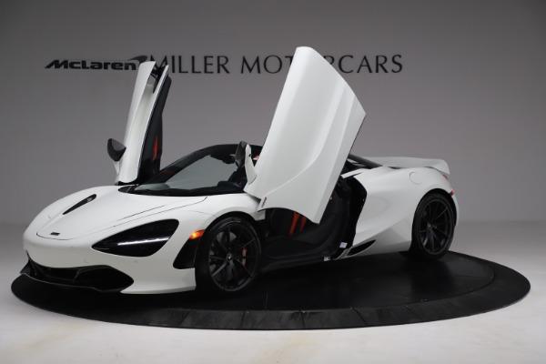 New 2021 McLaren 720S Spider for sale $366,670 at Alfa Romeo of Westport in Westport CT 06880 12