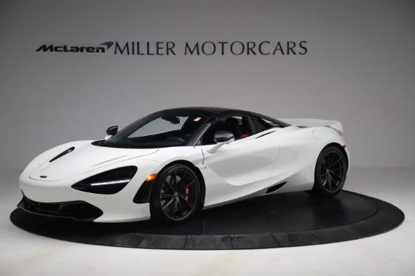 New 2021 McLaren 720S Spider for sale $366,670 at Alfa Romeo of Westport in Westport CT 06880 13