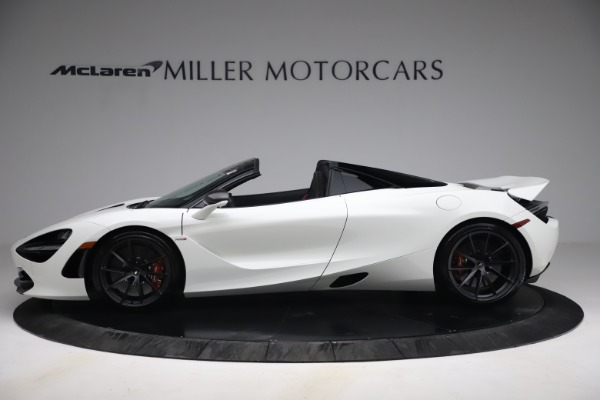 New 2021 McLaren 720S Spider for sale $366,670 at Alfa Romeo of Westport in Westport CT 06880 2