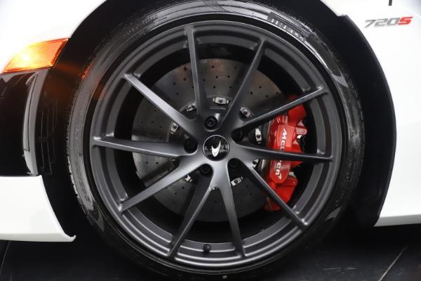 New 2021 McLaren 720S Spider for sale $366,670 at Alfa Romeo of Westport in Westport CT 06880 21