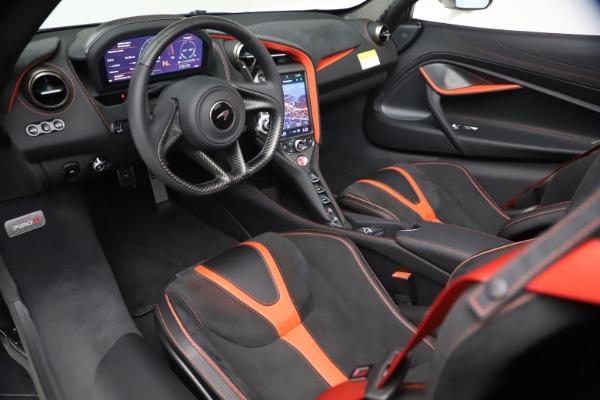 New 2021 McLaren 720S Spider for sale $366,670 at Alfa Romeo of Westport in Westport CT 06880 22
