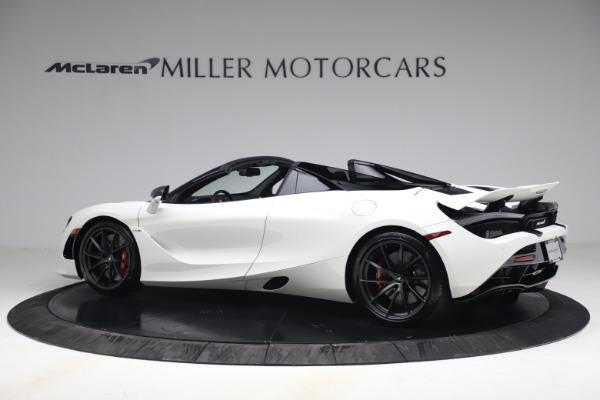 New 2021 McLaren 720S Spider for sale $366,670 at Alfa Romeo of Westport in Westport CT 06880 3