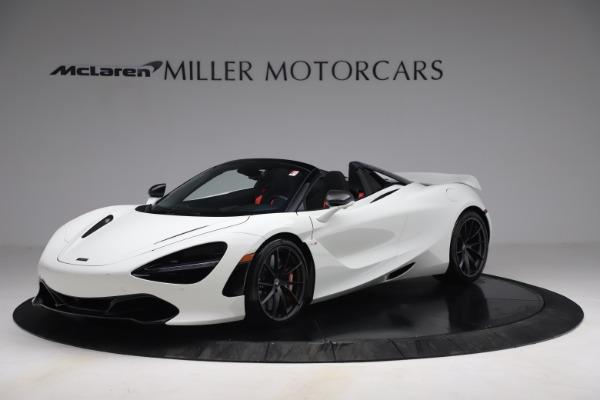 New 2021 McLaren 720S Spider for sale $366,670 at Alfa Romeo of Westport in Westport CT 06880 1
