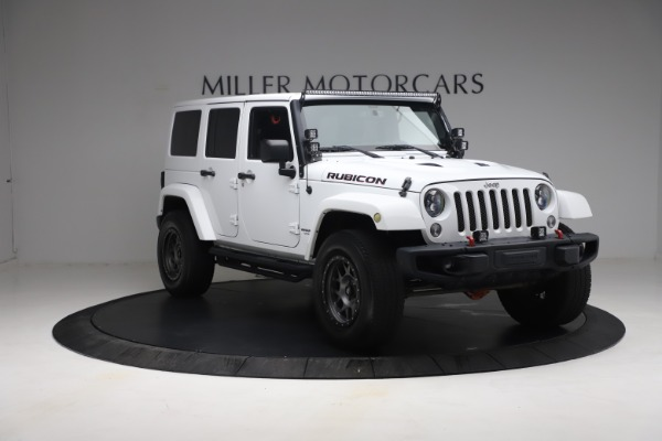 Used 2015 Jeep Wrangler Unlimited Rubicon Hard Rock for sale $39,900 at Alfa Romeo of Westport in Westport CT 06880 11