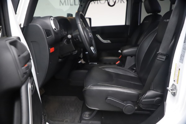 Used 2015 Jeep Wrangler Unlimited Rubicon Hard Rock for sale $39,900 at Alfa Romeo of Westport in Westport CT 06880 15
