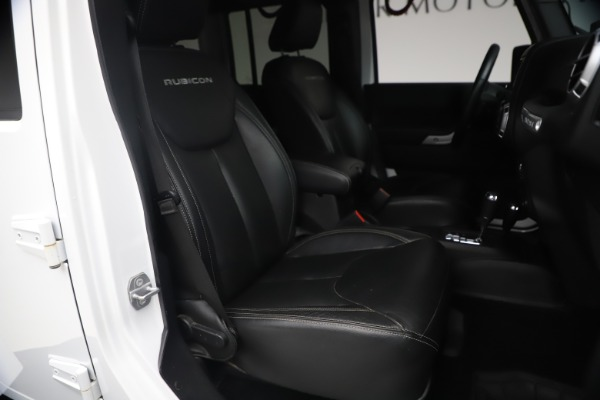 Used 2015 Jeep Wrangler Unlimited Rubicon Hard Rock for sale $39,900 at Alfa Romeo of Westport in Westport CT 06880 19