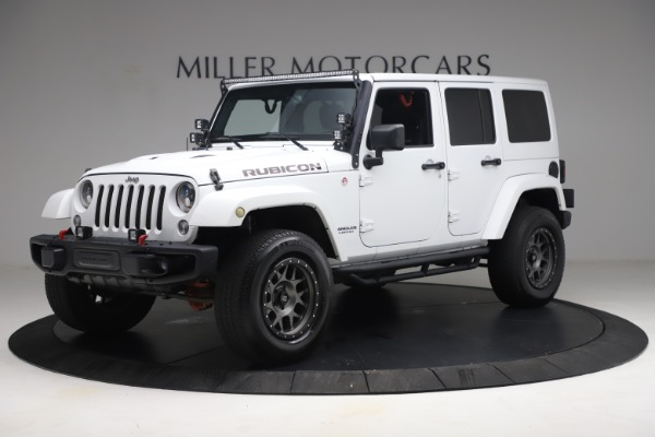 Used 2015 Jeep Wrangler Unlimited Rubicon Hard Rock for sale $39,900 at Alfa Romeo of Westport in Westport CT 06880 2