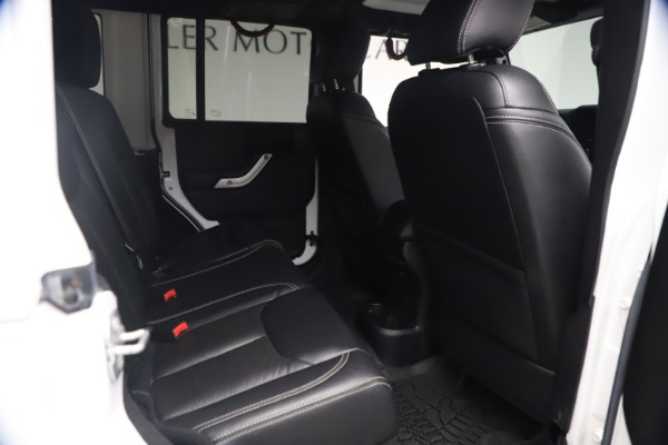 Used 2015 Jeep Wrangler Unlimited Rubicon Hard Rock for sale $39,900 at Alfa Romeo of Westport in Westport CT 06880 21