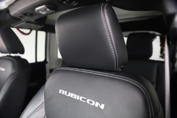 Used 2015 Jeep Wrangler Unlimited Rubicon Hard Rock for sale $39,900 at Alfa Romeo of Westport in Westport CT 06880 26
