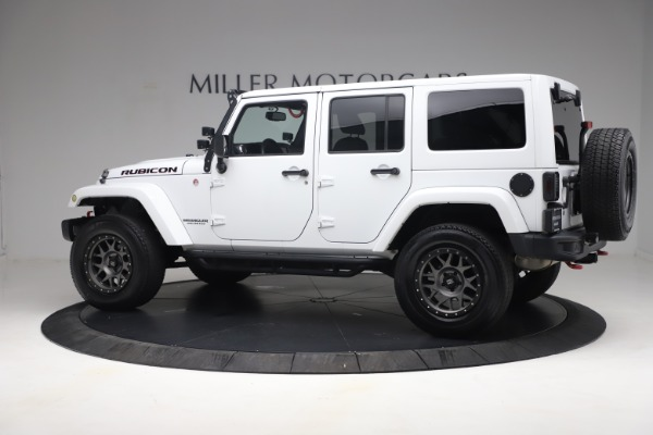 Used 2015 Jeep Wrangler Unlimited Rubicon Hard Rock for sale $39,900 at Alfa Romeo of Westport in Westport CT 06880 4