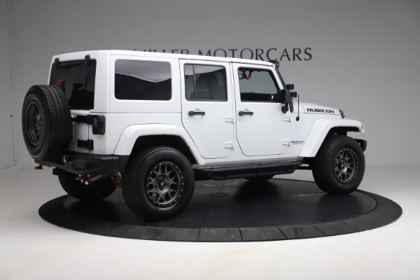 Used 2015 Jeep Wrangler Unlimited Rubicon Hard Rock for sale $39,900 at Alfa Romeo of Westport in Westport CT 06880 8