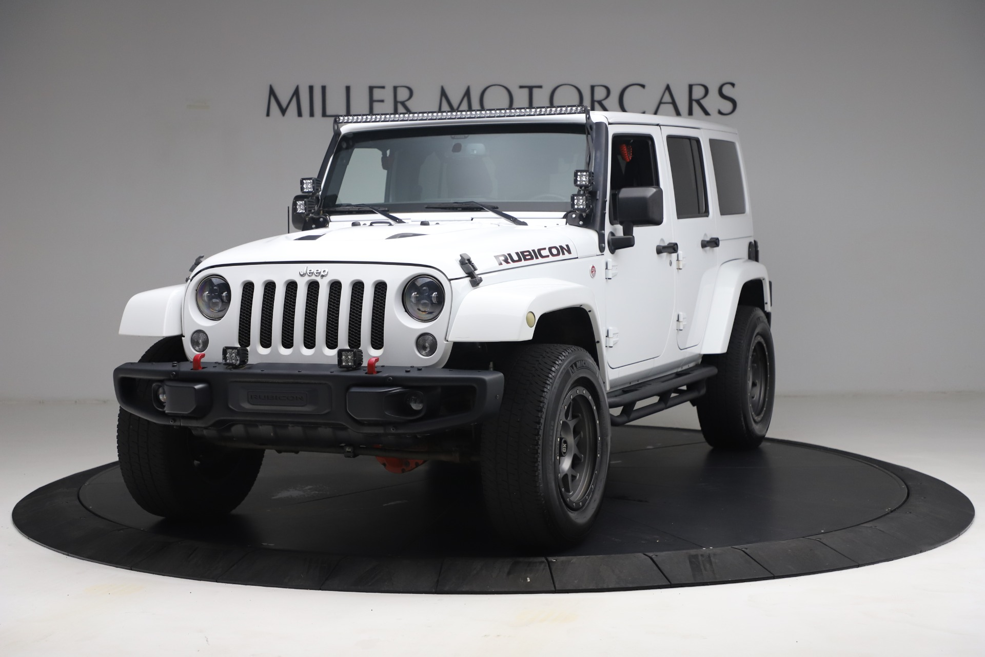 Used 2015 Jeep Wrangler Unlimited Rubicon Hard Rock for sale $39,900 at Alfa Romeo of Westport in Westport CT 06880 1