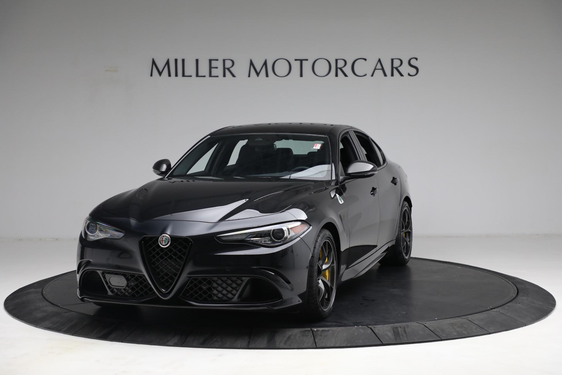 New 2021 Alfa Romeo Giulia Quadrifoglio for sale $81,505 at Alfa Romeo of Westport in Westport CT 06880 1