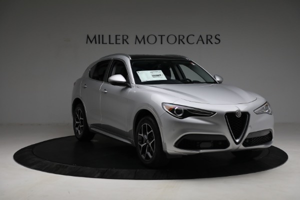 New 2021 Alfa Romeo Stelvio Ti Q4 for sale Sold at Alfa Romeo of Westport in Westport CT 06880 11