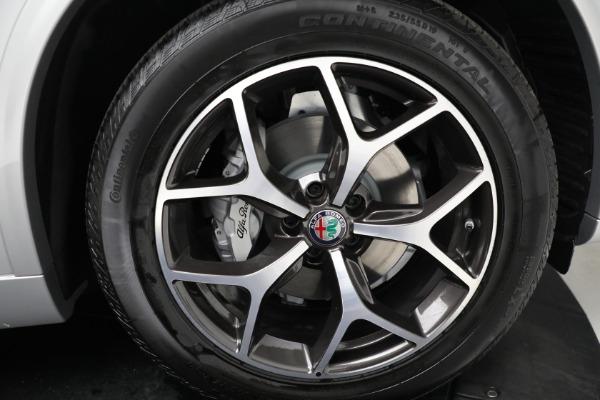New 2021 Alfa Romeo Stelvio Ti Q4 for sale Sold at Alfa Romeo of Westport in Westport CT 06880 19