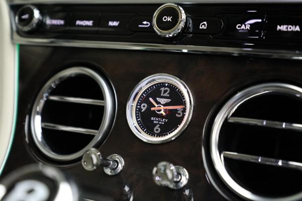 New 2020 Bentley Continental GT W12 for sale Sold at Alfa Romeo of Westport in Westport CT 06880 27