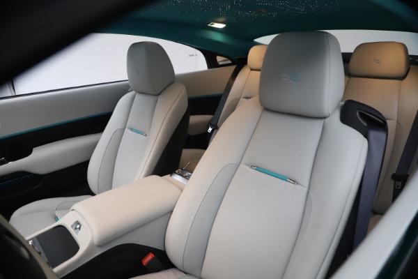 Used 2021 Rolls-Royce Wraith KRYPTOS for sale Call for price at Alfa Romeo of Westport in Westport CT 06880 14