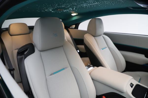 Used 2021 Rolls-Royce Wraith KRYPTOS for sale Call for price at Alfa Romeo of Westport in Westport CT 06880 15