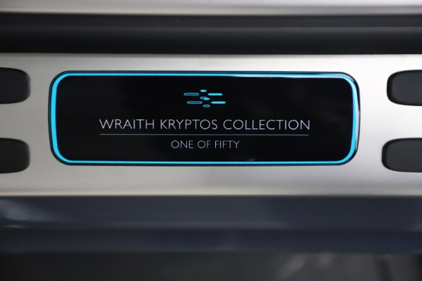 Used 2021 Rolls-Royce Wraith KRYPTOS for sale Call for price at Alfa Romeo of Westport in Westport CT 06880 22