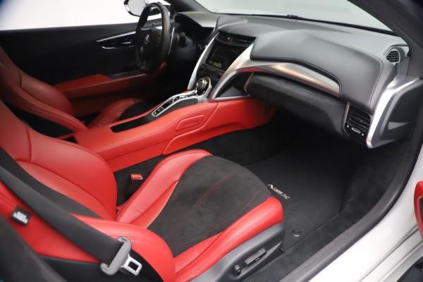 Used 2017 Acura NSX SH-AWD Sport Hybrid for sale $139,900 at Alfa Romeo of Westport in Westport CT 06880 18