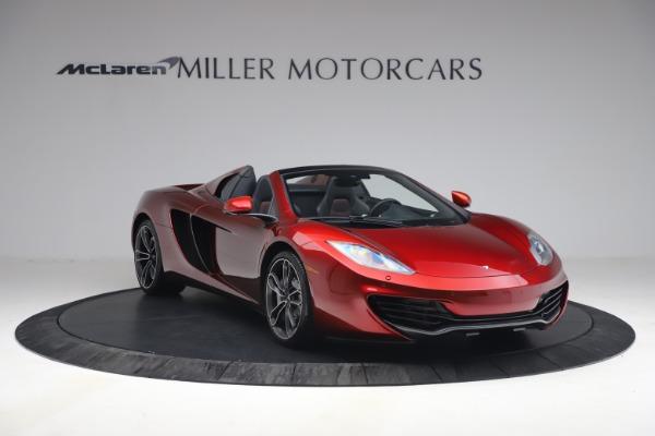 Used 2013 McLaren MP4-12C Spider for sale $134,900 at Alfa Romeo of Westport in Westport CT 06880 11