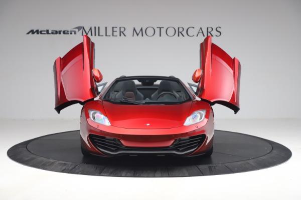 Used 2013 McLaren MP4-12C Spider for sale $134,900 at Alfa Romeo of Westport in Westport CT 06880 13