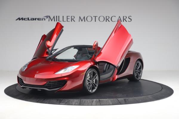 Used 2013 McLaren MP4-12C Spider for sale $134,900 at Alfa Romeo of Westport in Westport CT 06880 14