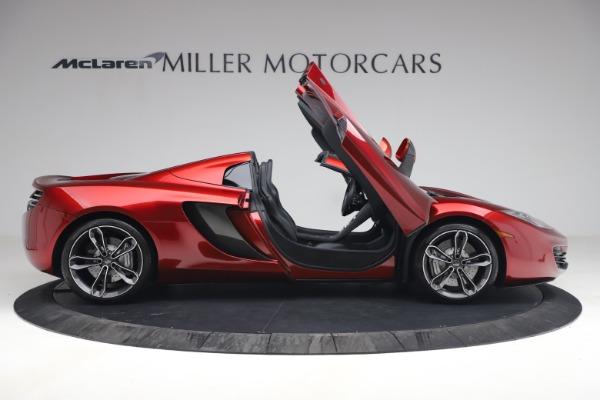 Used 2013 McLaren MP4-12C Spider for sale $134,900 at Alfa Romeo of Westport in Westport CT 06880 19