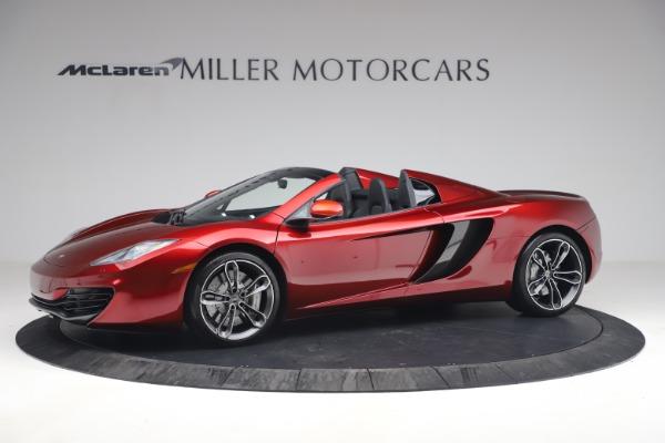 Used 2013 McLaren MP4-12C Spider for sale $134,900 at Alfa Romeo of Westport in Westport CT 06880 2