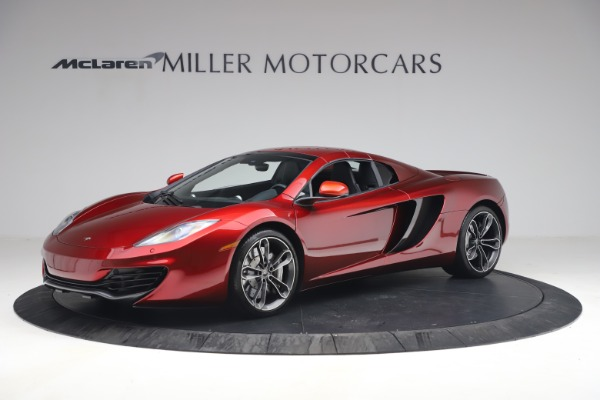 Used 2013 McLaren MP4-12C Spider for sale $134,900 at Alfa Romeo of Westport in Westport CT 06880 23