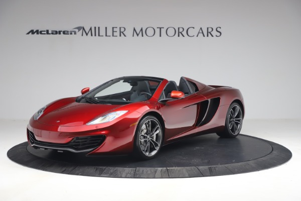 Used 2013 McLaren MP4-12C Spider for sale $134,900 at Alfa Romeo of Westport in Westport CT 06880 1
