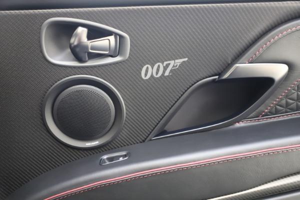 New 2021 Aston Martin DBS Superleggera 007 for sale $391,211 at Alfa Romeo of Westport in Westport CT 06880 21