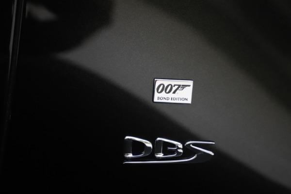 New 2021 Aston Martin DBS Superleggera 007 for sale $391,211 at Alfa Romeo of Westport in Westport CT 06880 26
