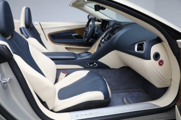 Used 2019 Aston Martin DB11 Volante for sale $209,900 at Alfa Romeo of Westport in Westport CT 06880 21