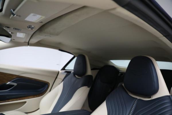 Used 2019 Aston Martin DB11 Volante for sale $209,900 at Alfa Romeo of Westport in Westport CT 06880 22