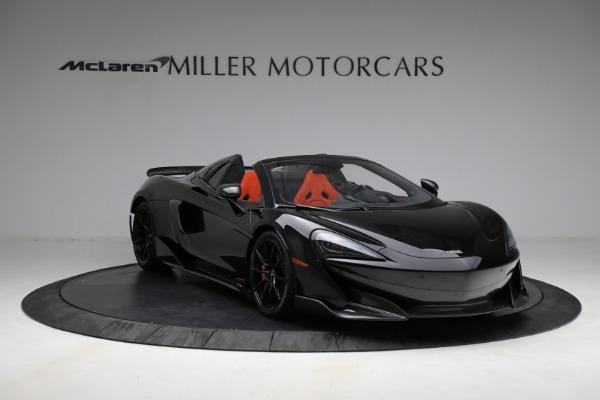 Used 2020 McLaren 600LT Spider for sale Call for price at Alfa Romeo of Westport in Westport CT 06880 11