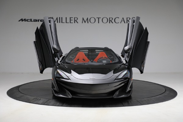 Used 2020 McLaren 600LT Spider for sale Call for price at Alfa Romeo of Westport in Westport CT 06880 13