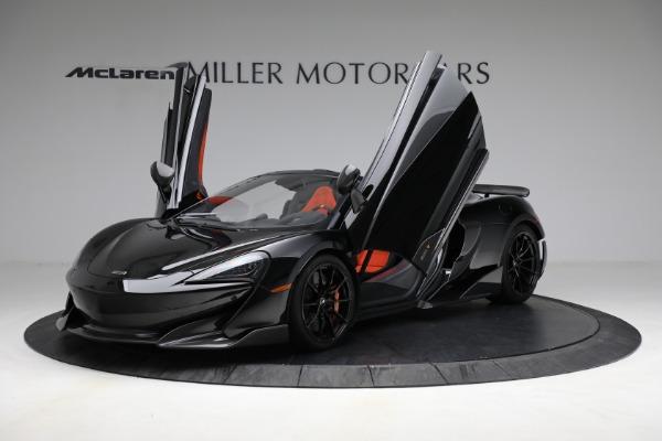 Used 2020 McLaren 600LT Spider for sale Call for price at Alfa Romeo of Westport in Westport CT 06880 14