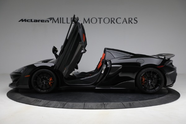 Used 2020 McLaren 600LT Spider for sale Call for price at Alfa Romeo of Westport in Westport CT 06880 15
