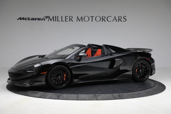 Used 2020 McLaren 600LT Spider for sale Call for price at Alfa Romeo of Westport in Westport CT 06880 2