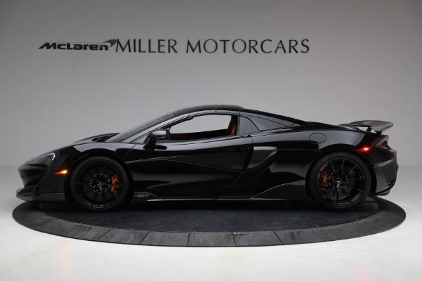 Used 2020 McLaren 600LT Spider for sale Call for price at Alfa Romeo of Westport in Westport CT 06880 21