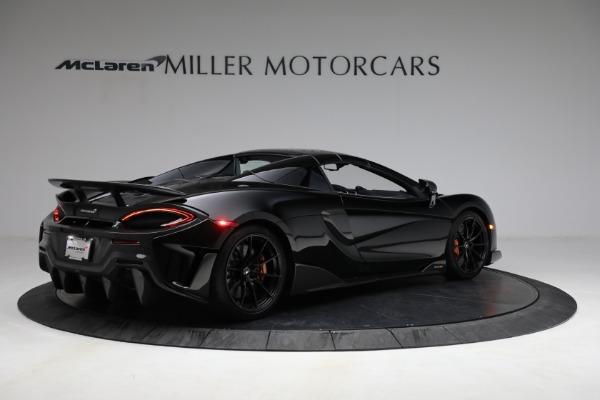Used 2020 McLaren 600LT Spider for sale Call for price at Alfa Romeo of Westport in Westport CT 06880 24